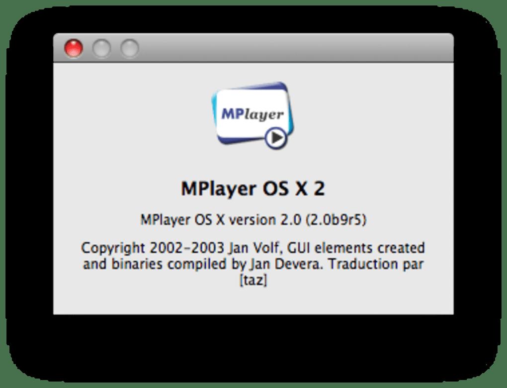 POUR GRATUIT MAC TÉLÉCHARGER OSX MPLAYER 2