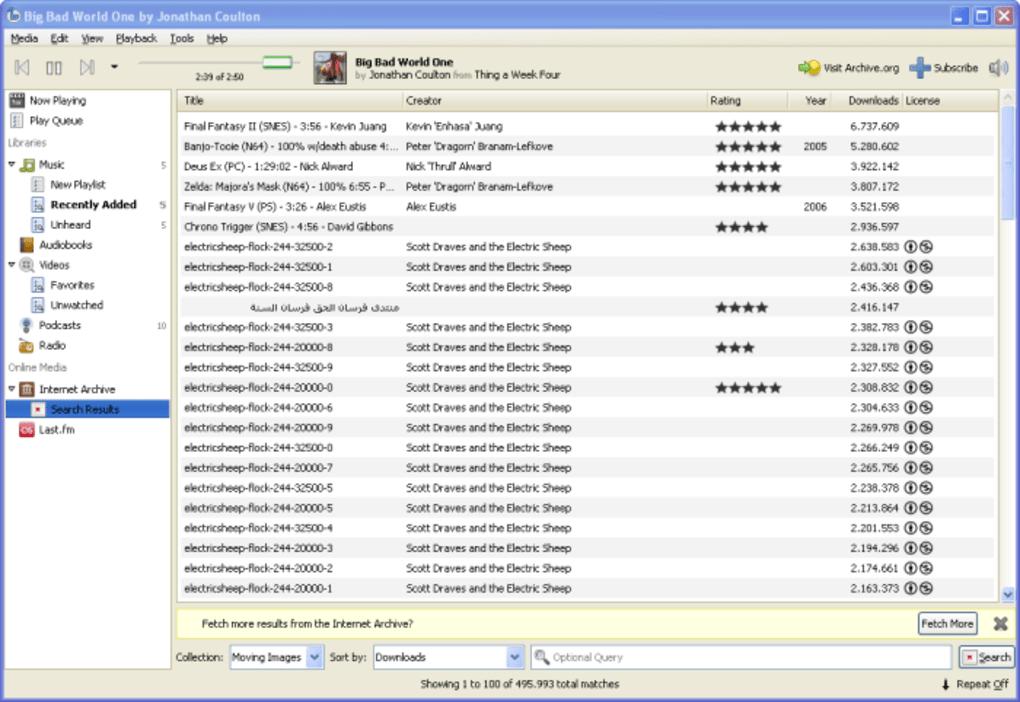 Banshee download.