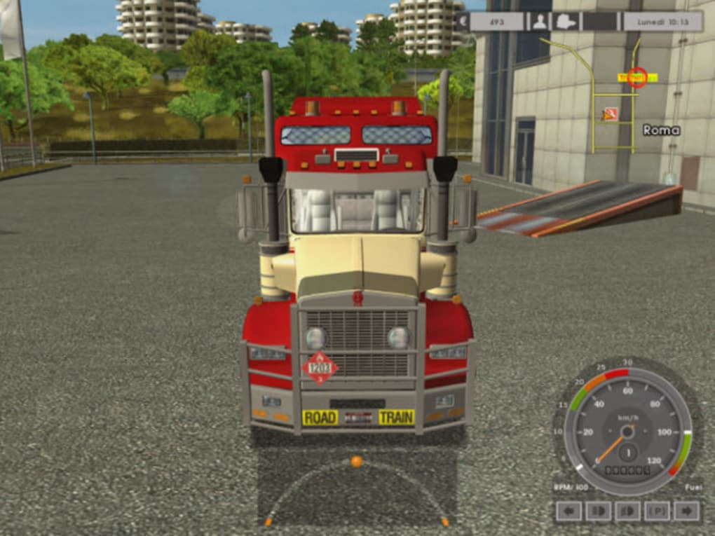 T800 TRUCK TRAIN EURO 8X6 KENWORTH ROAD SIMULATOR TÉLÉCHARGER