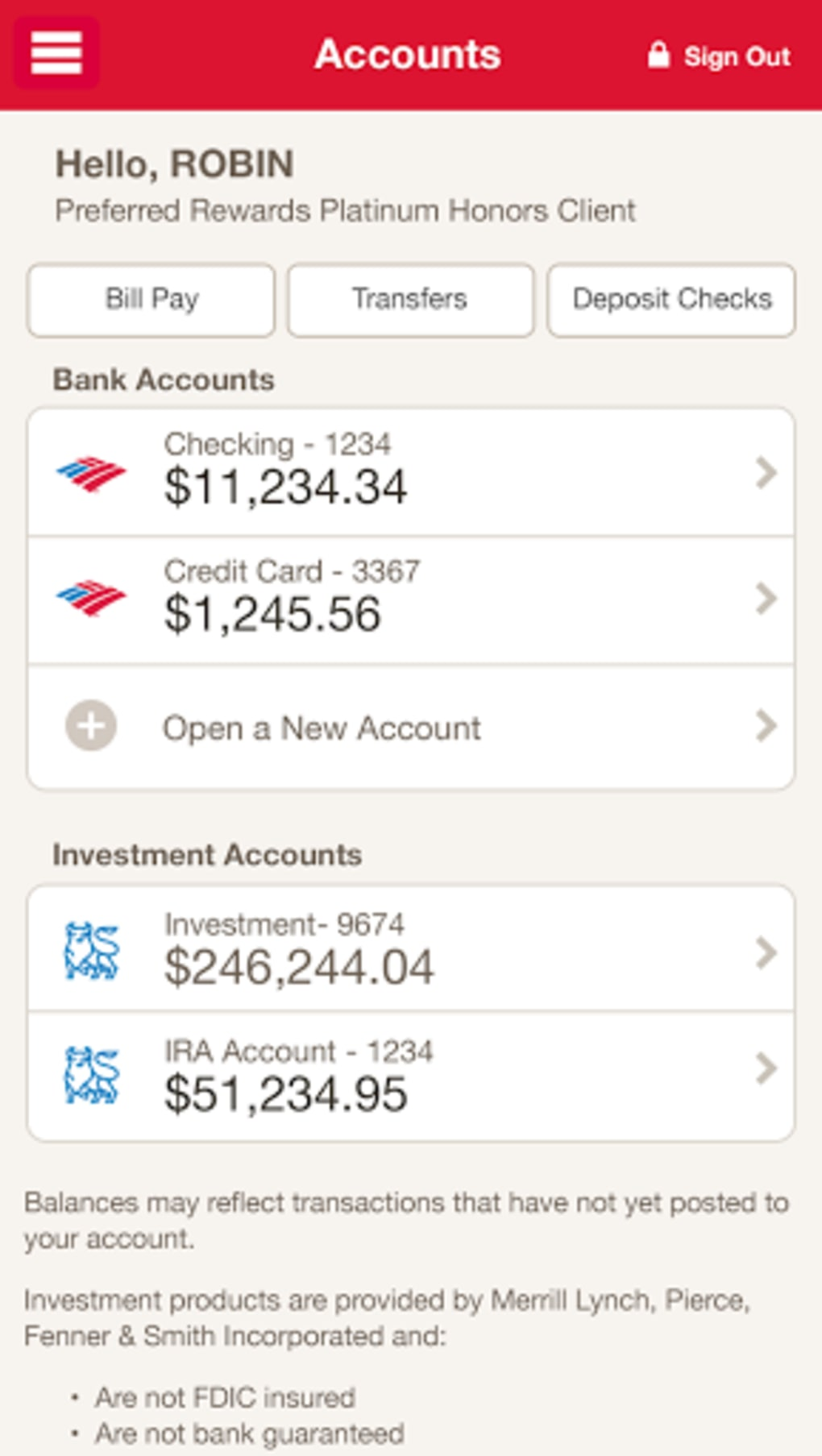 bank of america for android - download