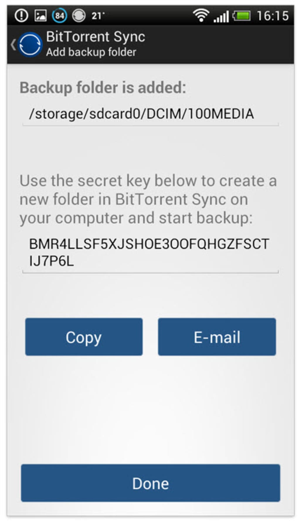 BitTorrent Sync for Android - Download