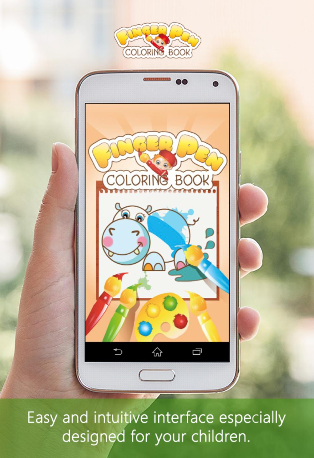 Coloring Book FingerPen