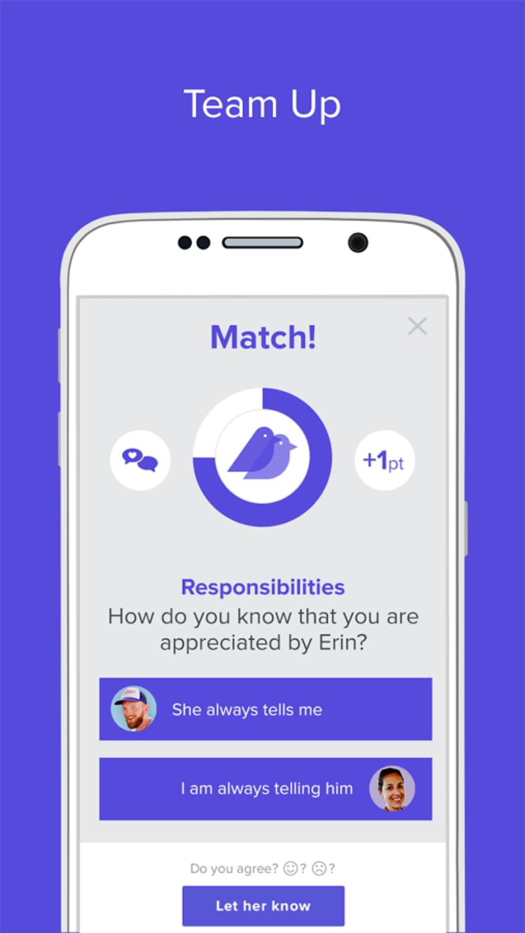 Persönliche Anzeige für eine Dating-Agentur