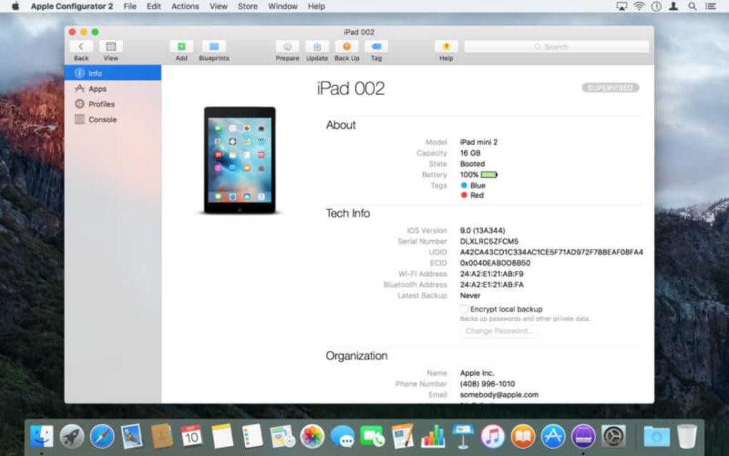 Apple Configurator For Mac Os