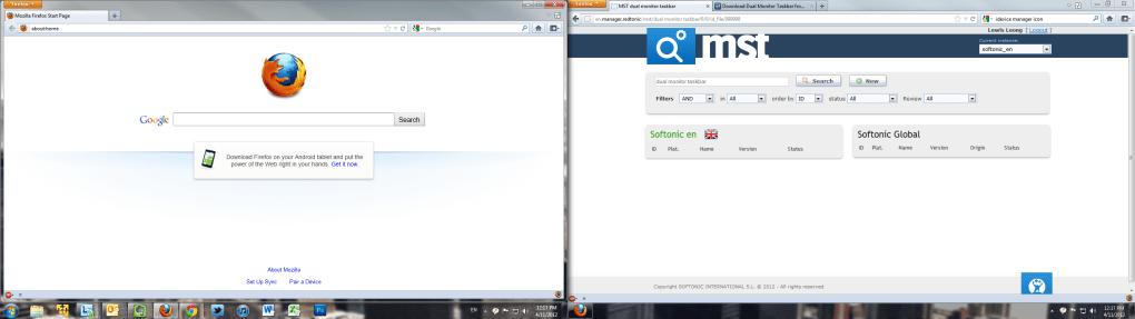 Dual Monitor Taskbar Download