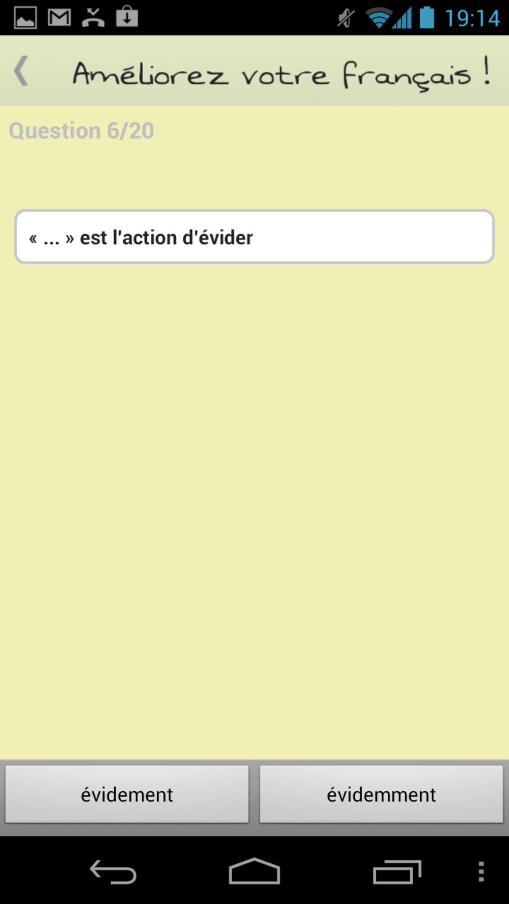 Am liorez votre fran ais pour android t l charger - Open office android francais ...