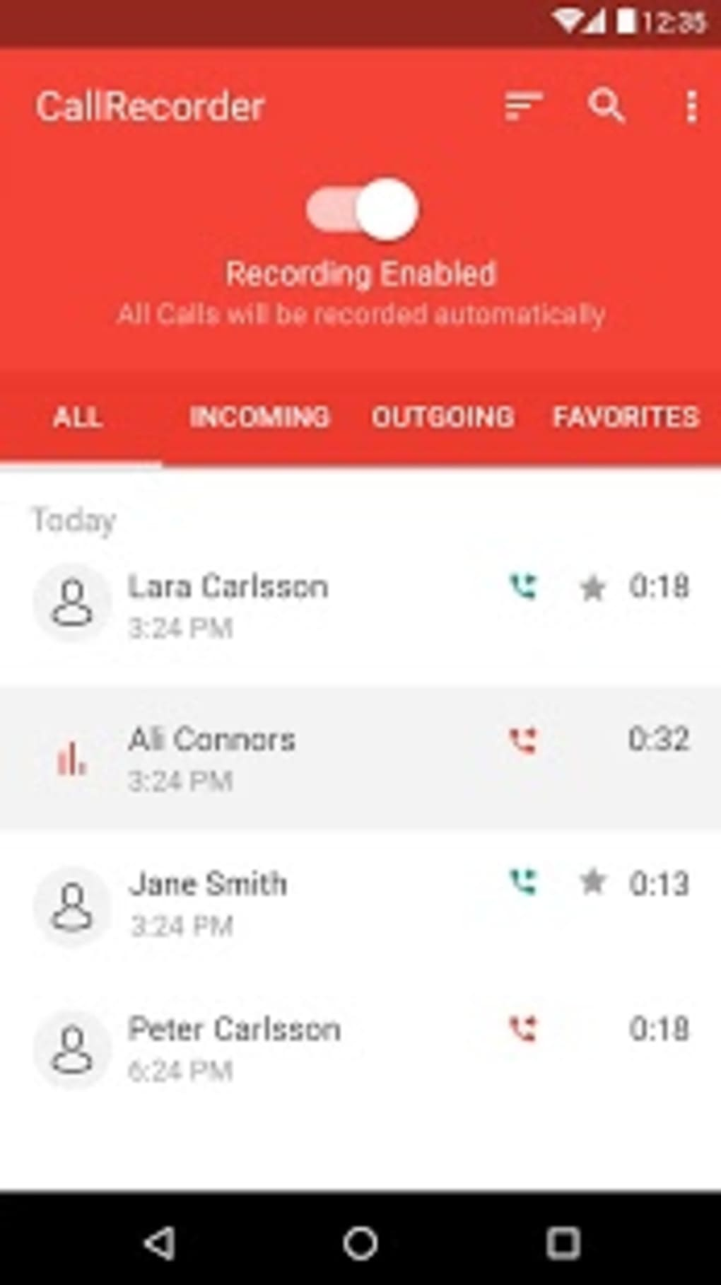 Automatic call recorder pro apk appliqato | Automatic Call Recorder