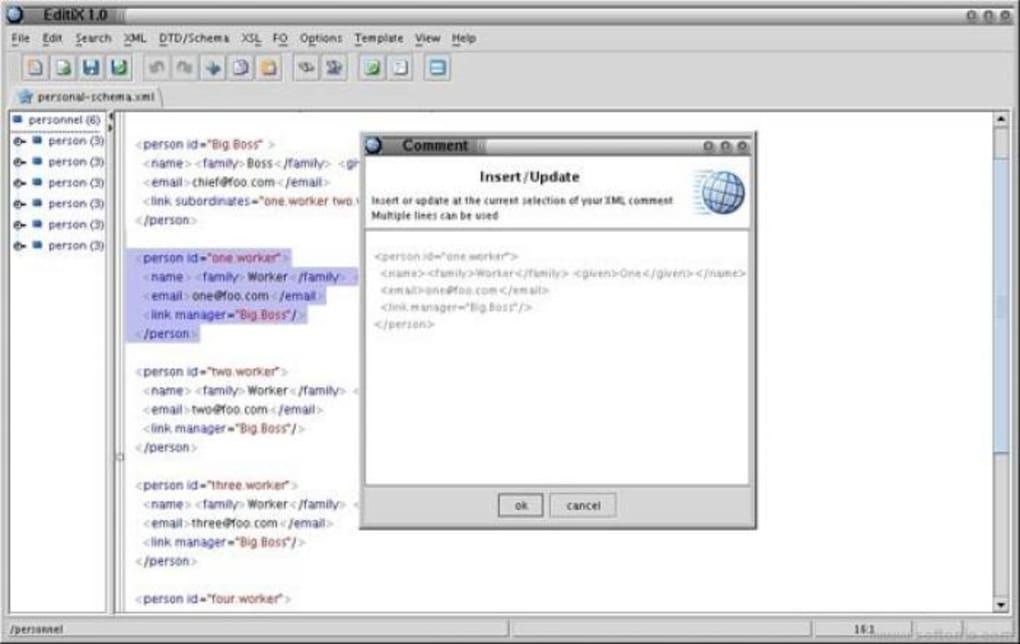 EditiX para Mac - Descargar