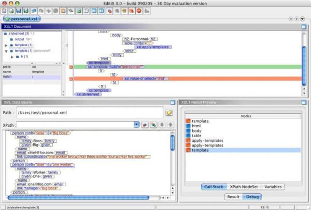 Xml Editor Mac