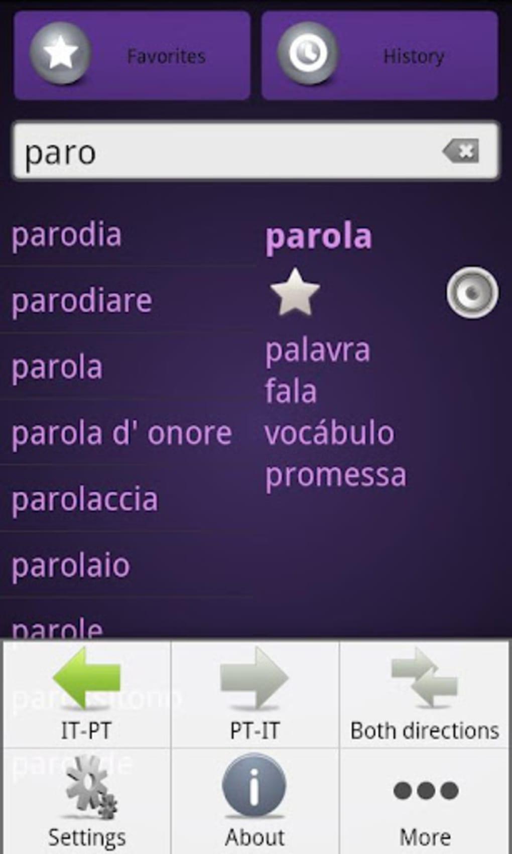 Dicionario Italiano Portugues Pdf