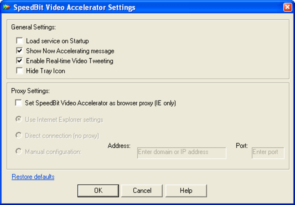 Speedbit video accelerator download.