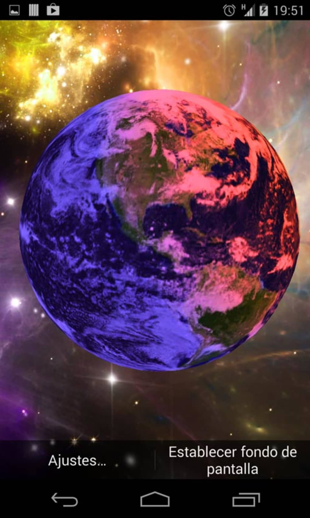 3d earth live wallpaper for android download