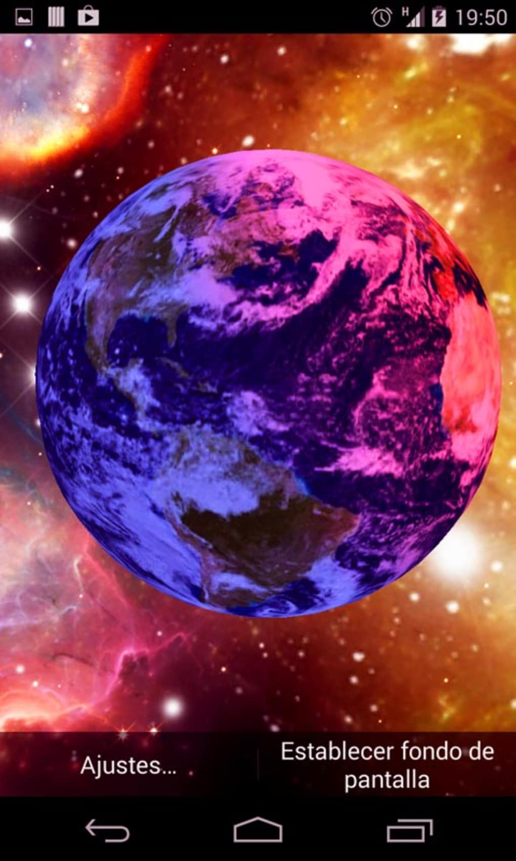 3D Earth Live Wallpaper 1 4 Screenshots