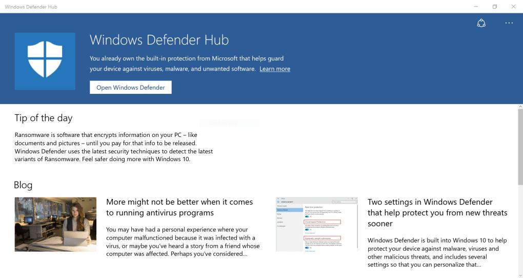 microsoft defender windows 10 download free