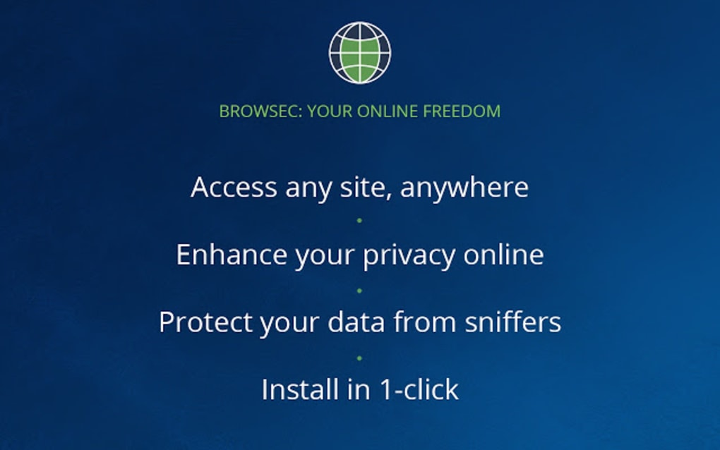 Online privacy and security trusted by millions