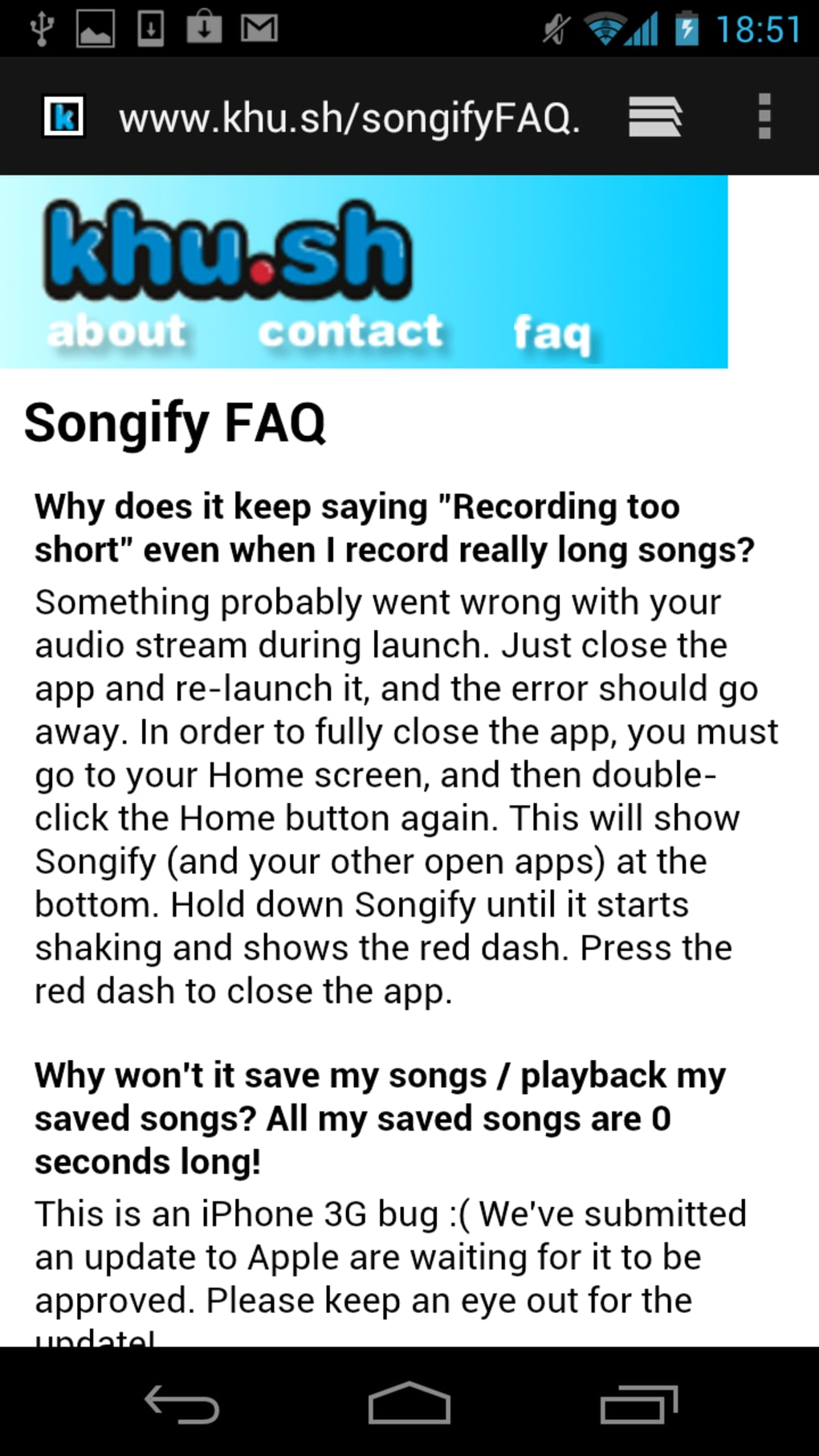 Songify for Android - Download
