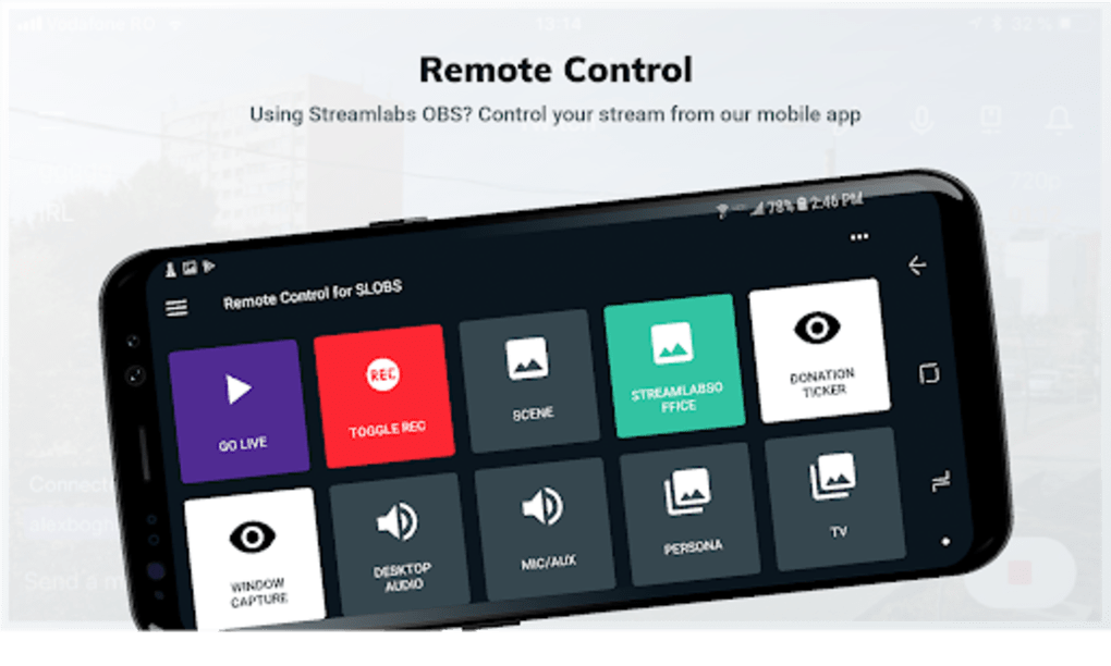 Streamlabs OBS Remote Control for Android - Download