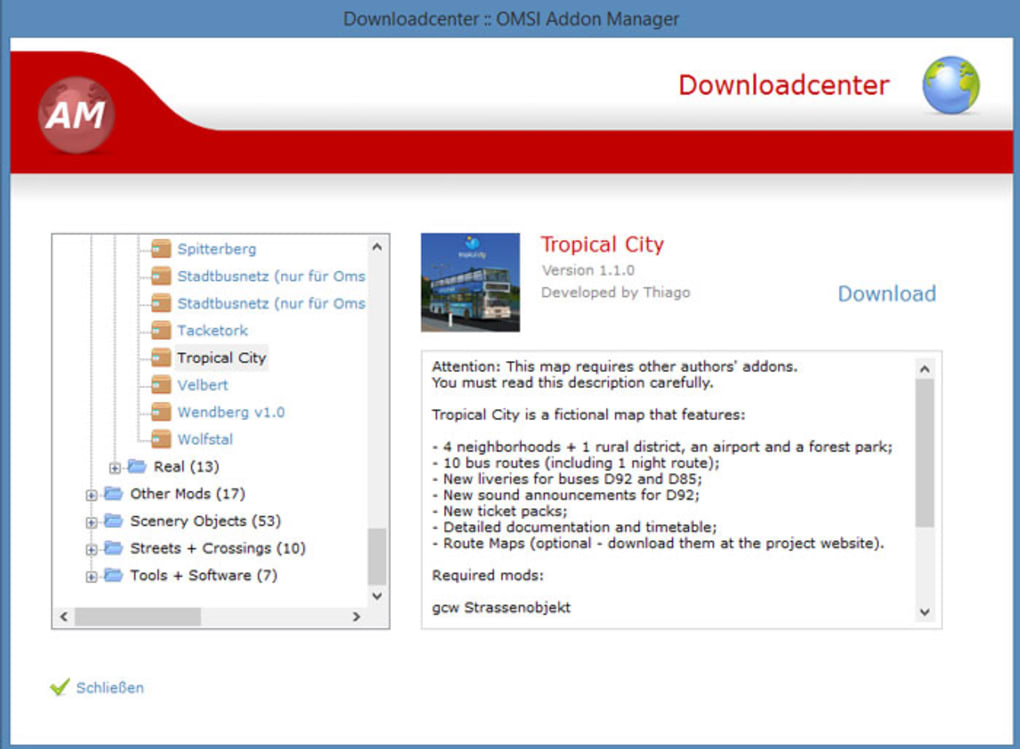 OMSI Addon Manager - Download