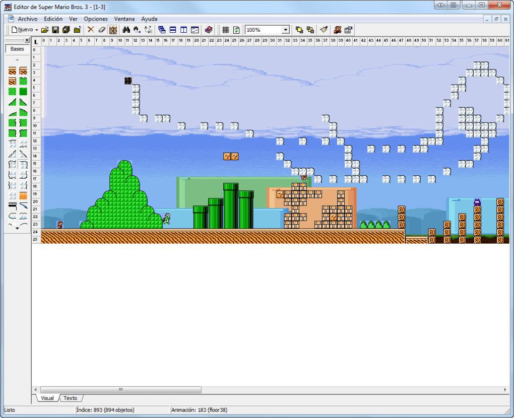 Mario Editor Flash