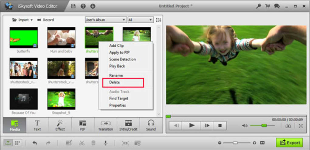 iskysoft video editor download