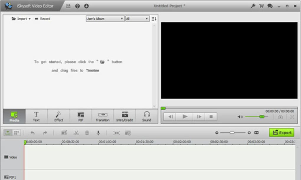 iskysoft video editor free download for windows 7