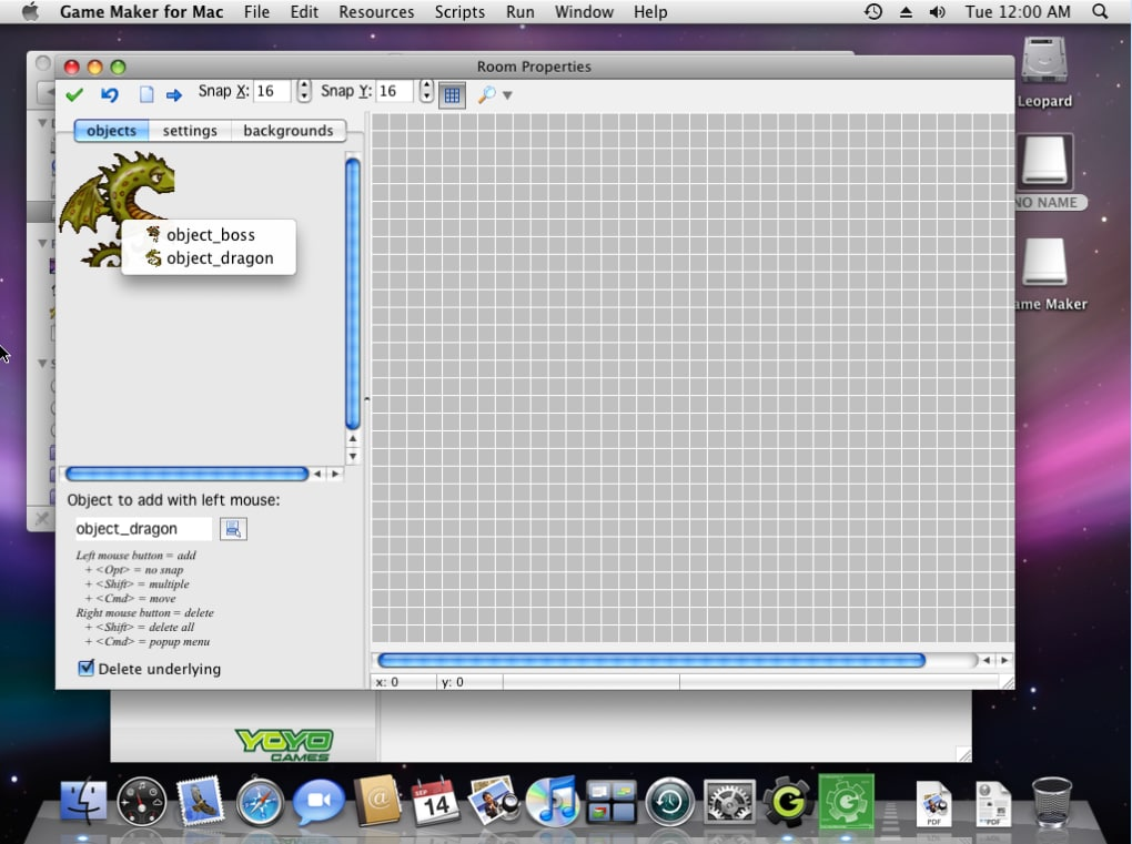 Game Maker for Mac - Download