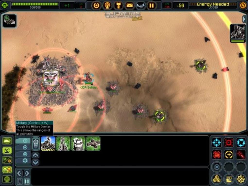 supreme commander 2 download free full version