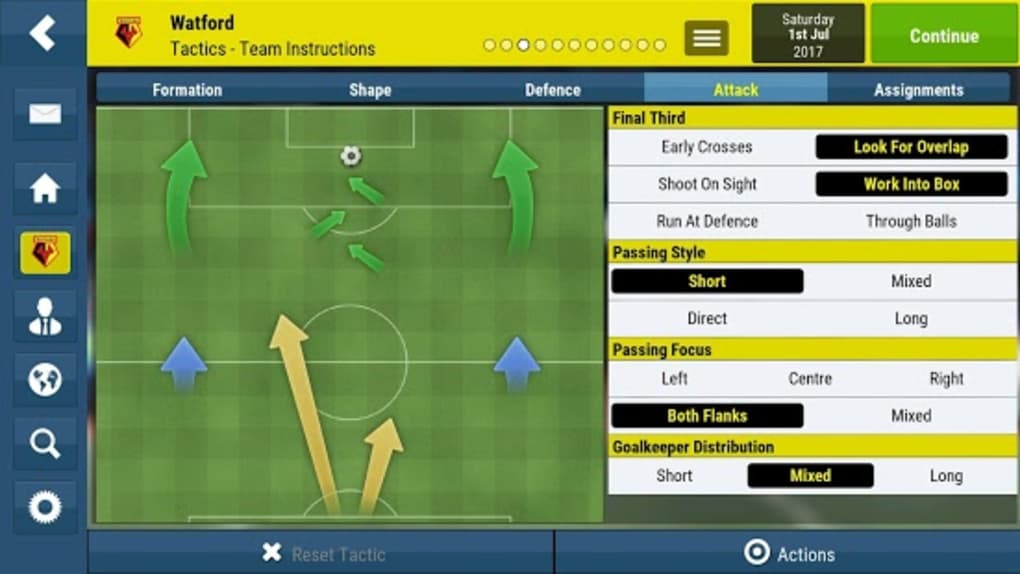 football manager 2018 apk free download