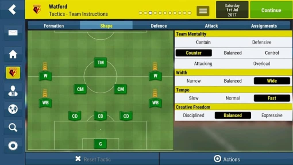 Football Manager Mobile 2018 for Android - Download