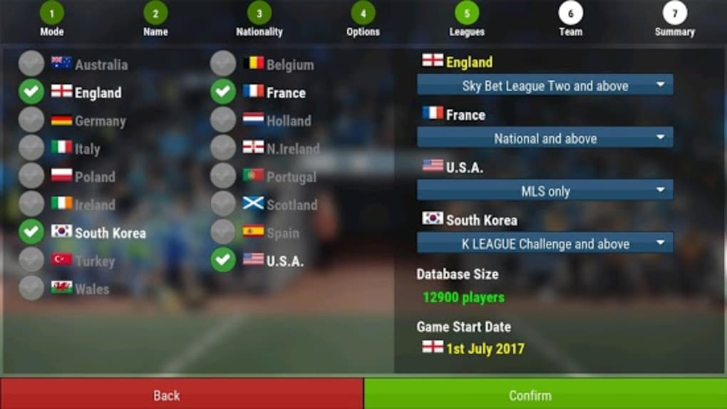football manager 2018 free download for android