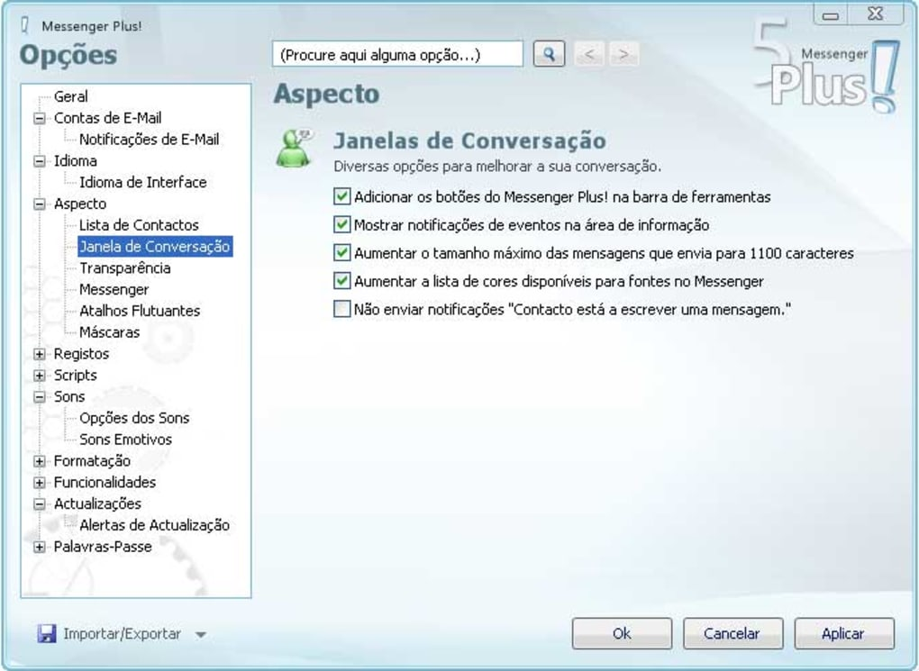 msn plus compatvel com msn 2011