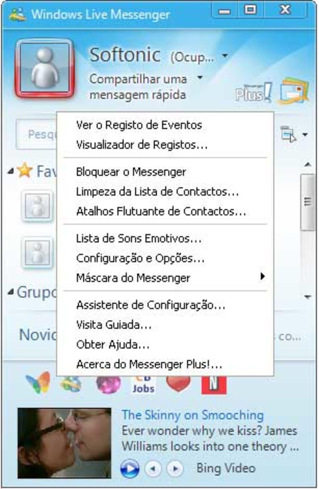 msn plus compativel com msn 2009