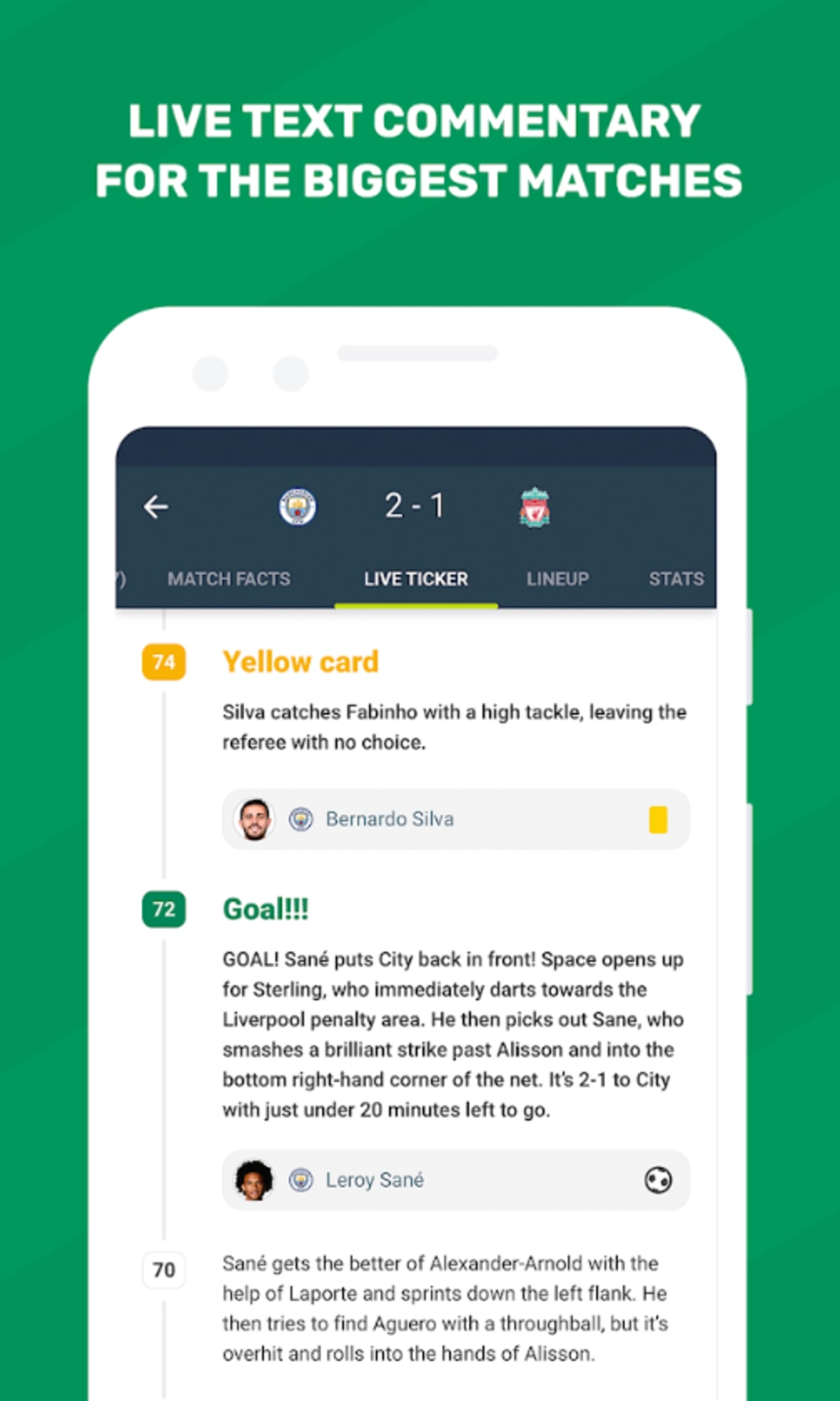 FotMob for Android - Download