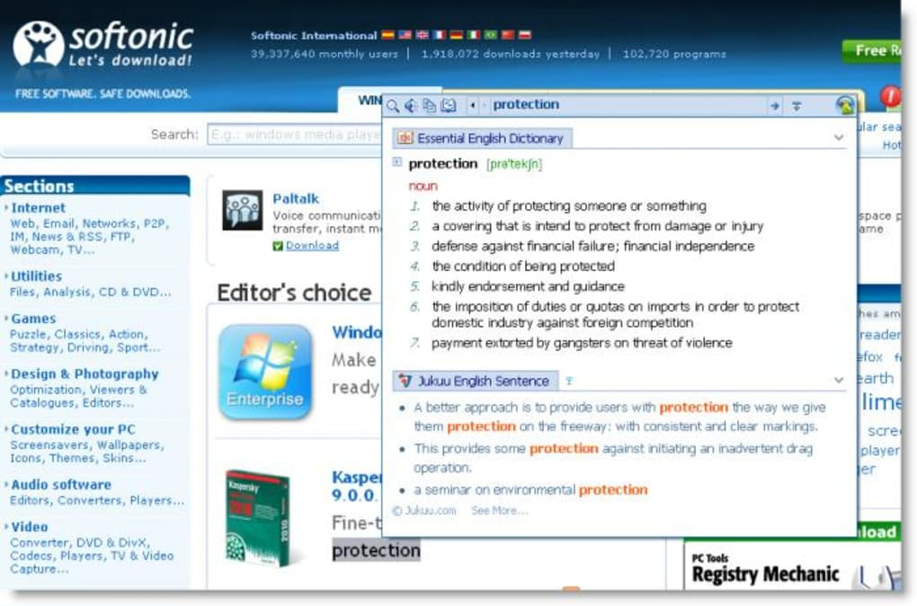 english dictionary software free download for windows 7
