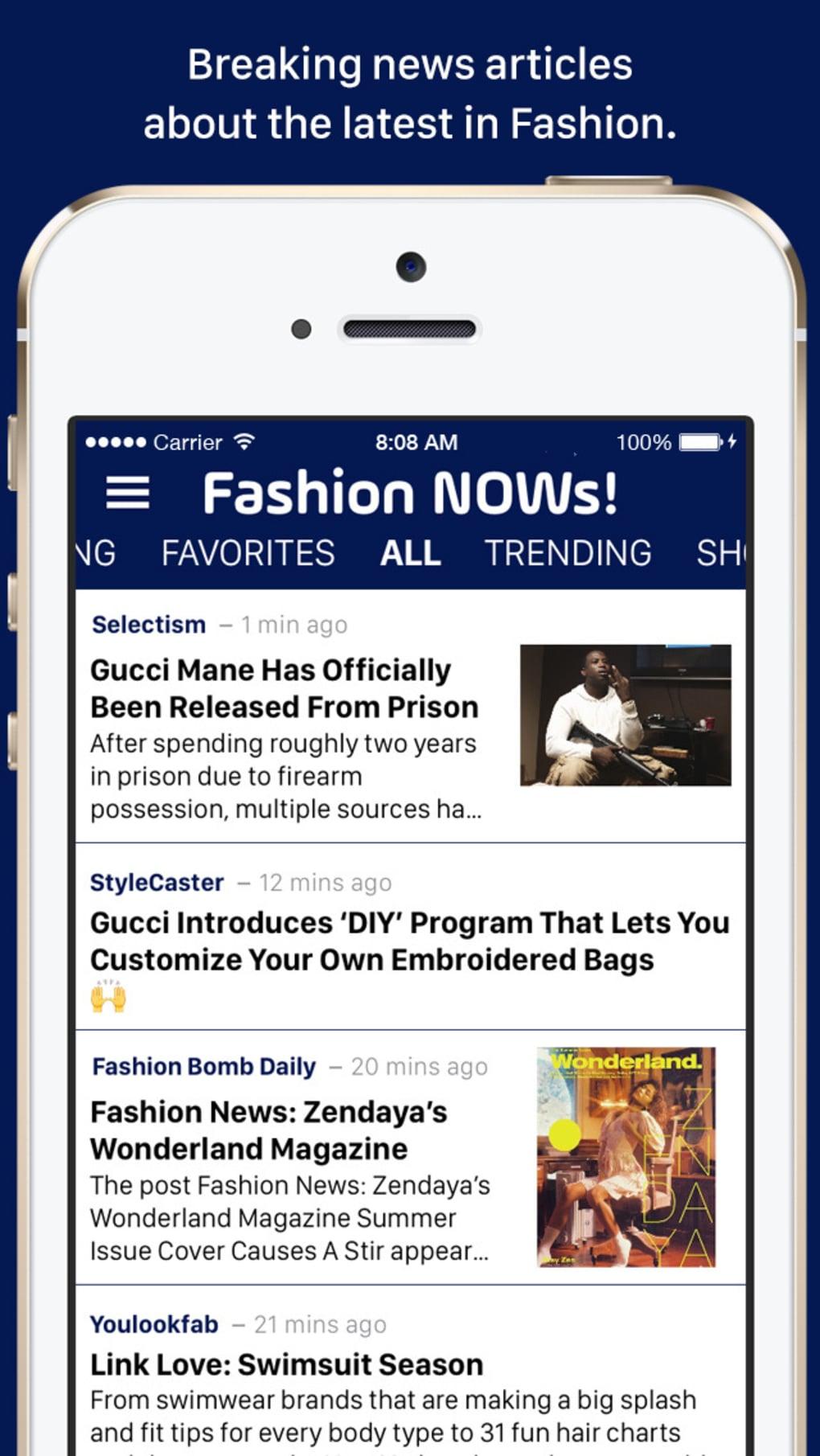 Fashion NOWs!