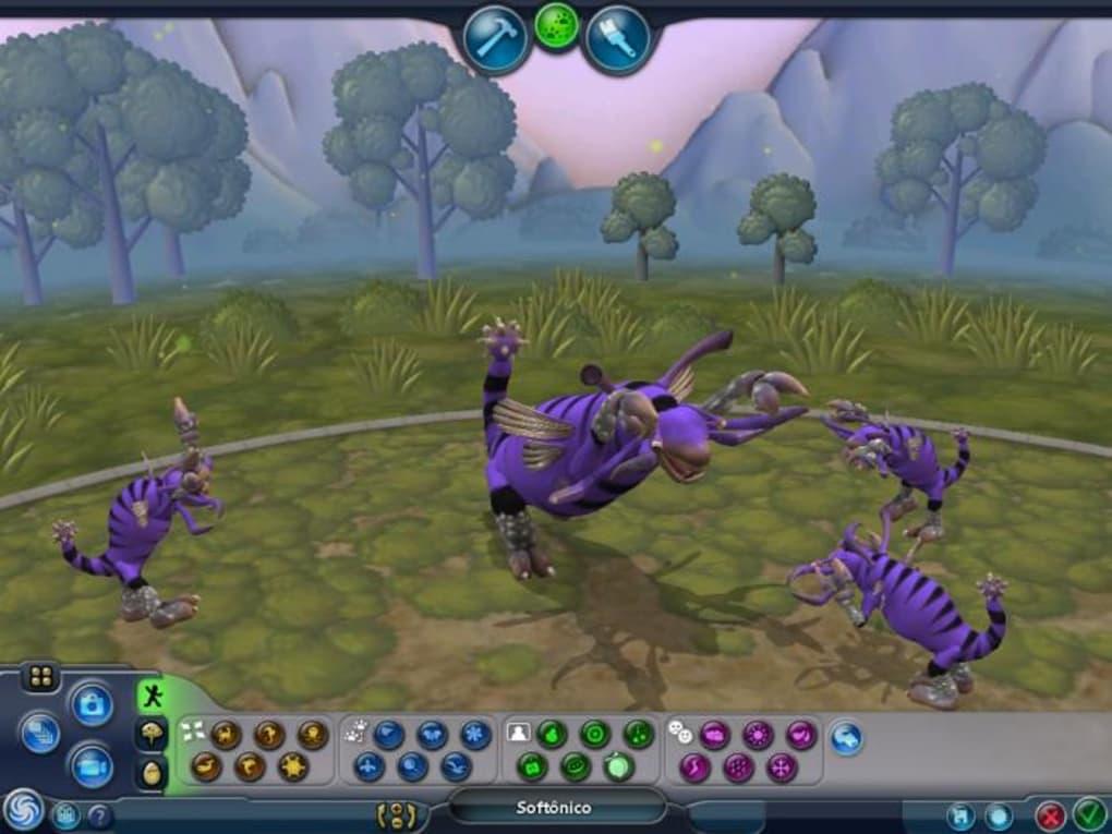 criador de criaturas spore completo gratis