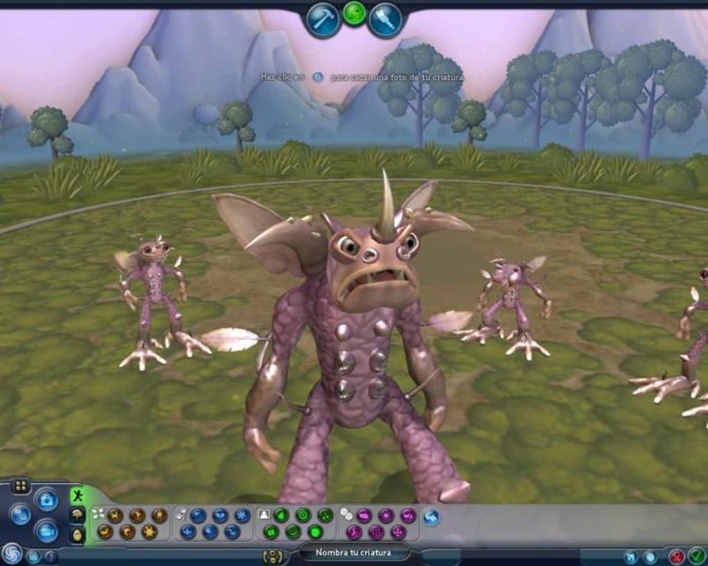 Removed spore creature creator