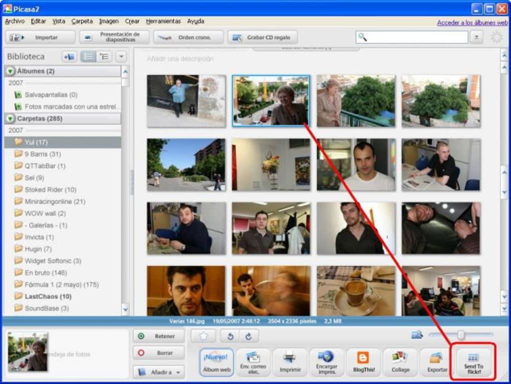 Picasa2Flickr - Download