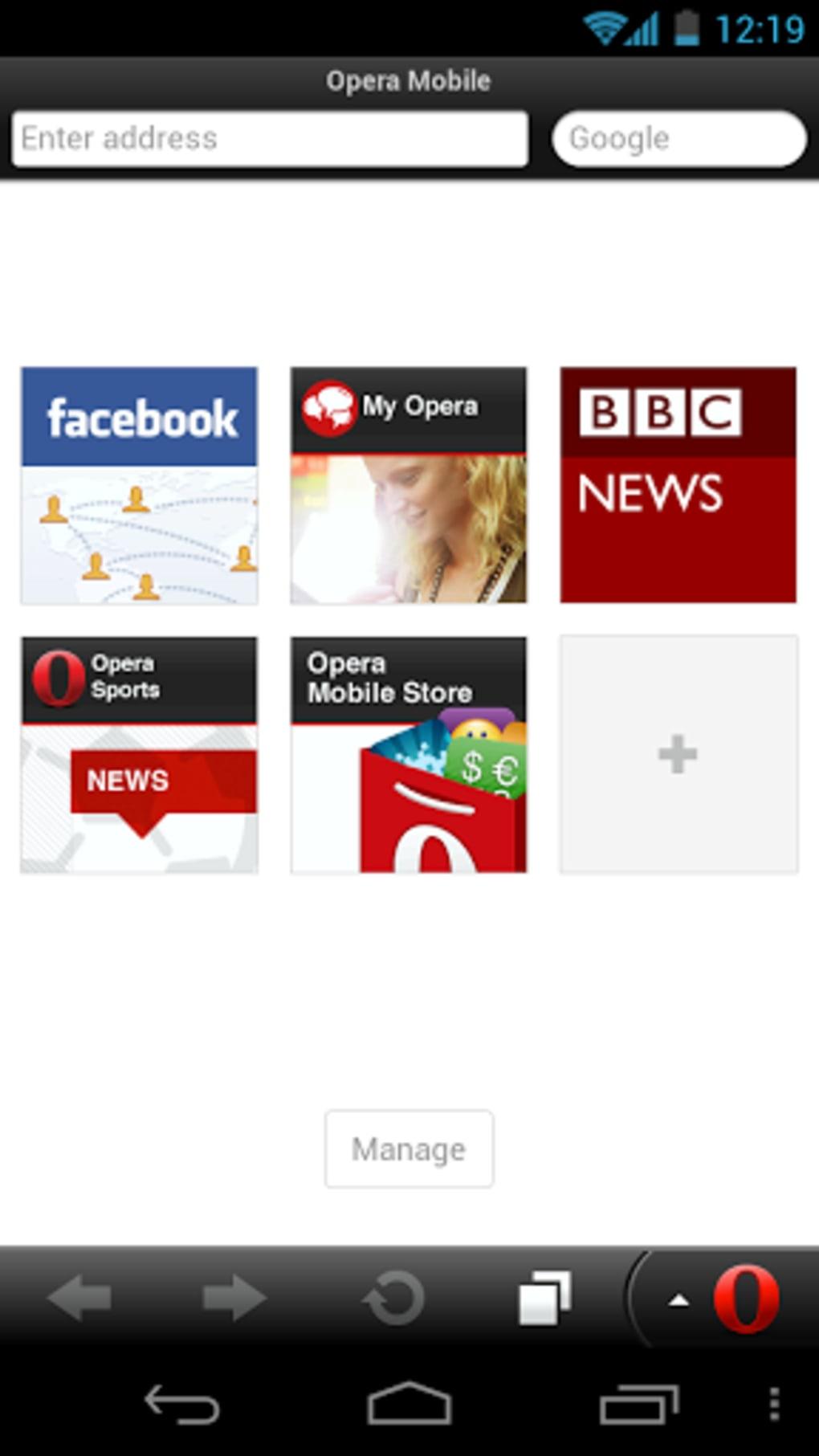 download opera mini for 2.2