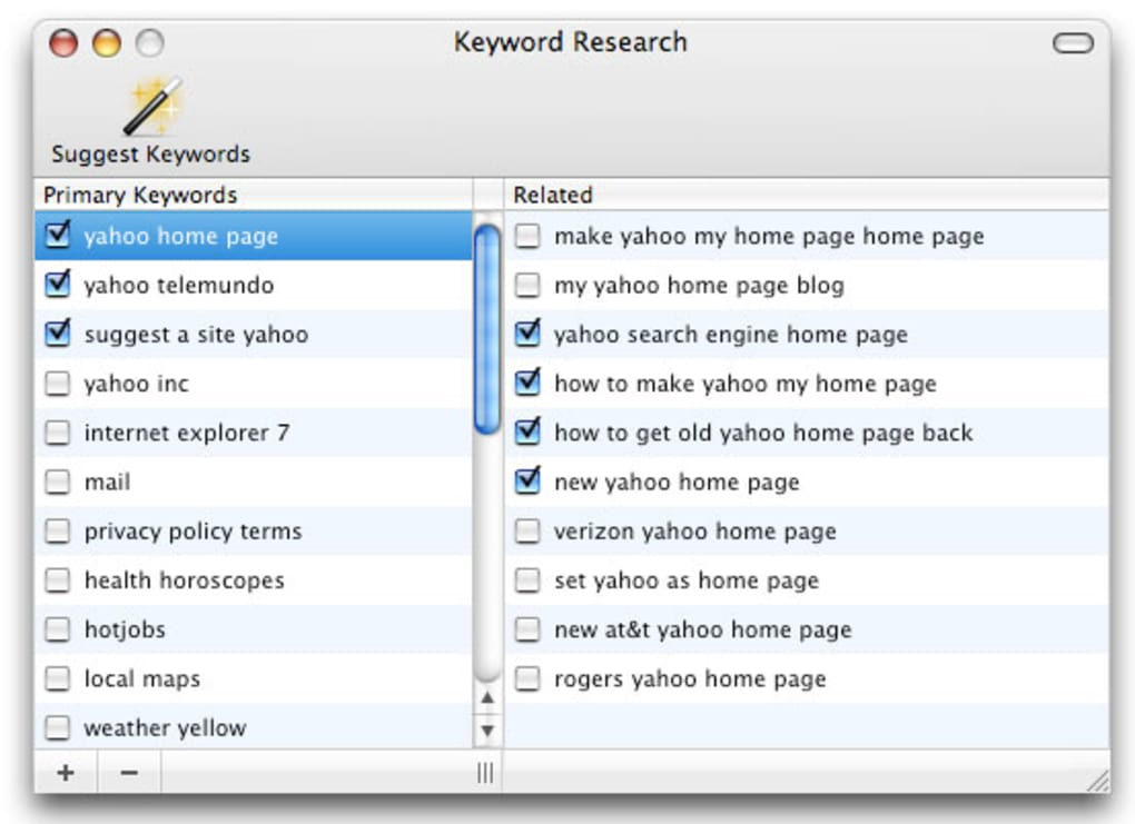 RAGE SEKeyword for Mac - Download