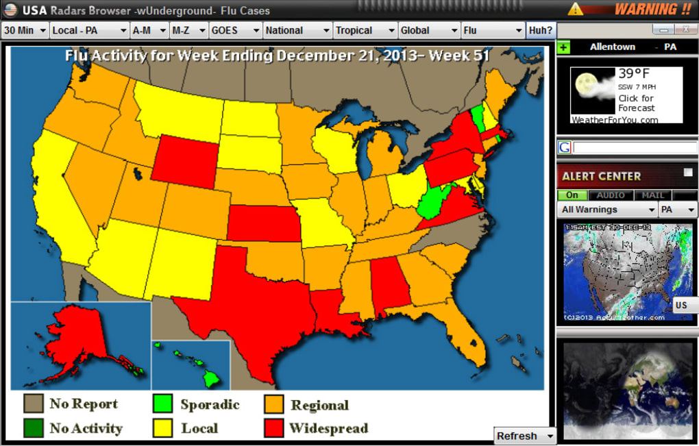 USA Radar Weather Browser - Download