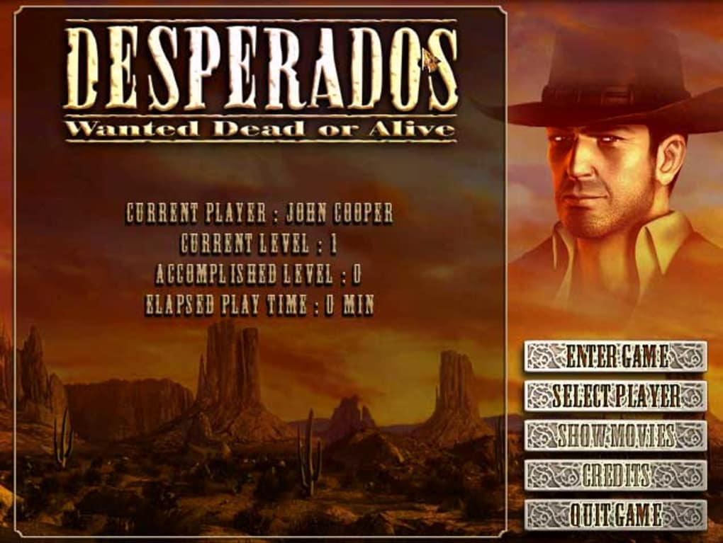 desperados wanted dead or alive francais