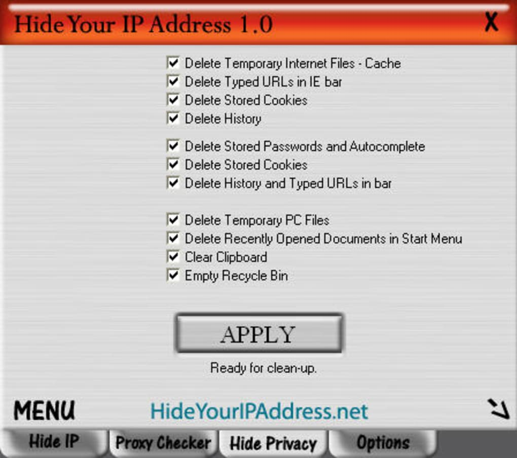 How to hide your IP Address