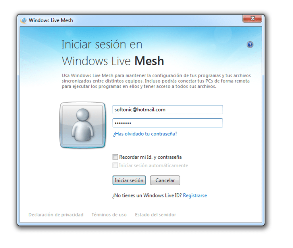 windows live mesh windows descargar