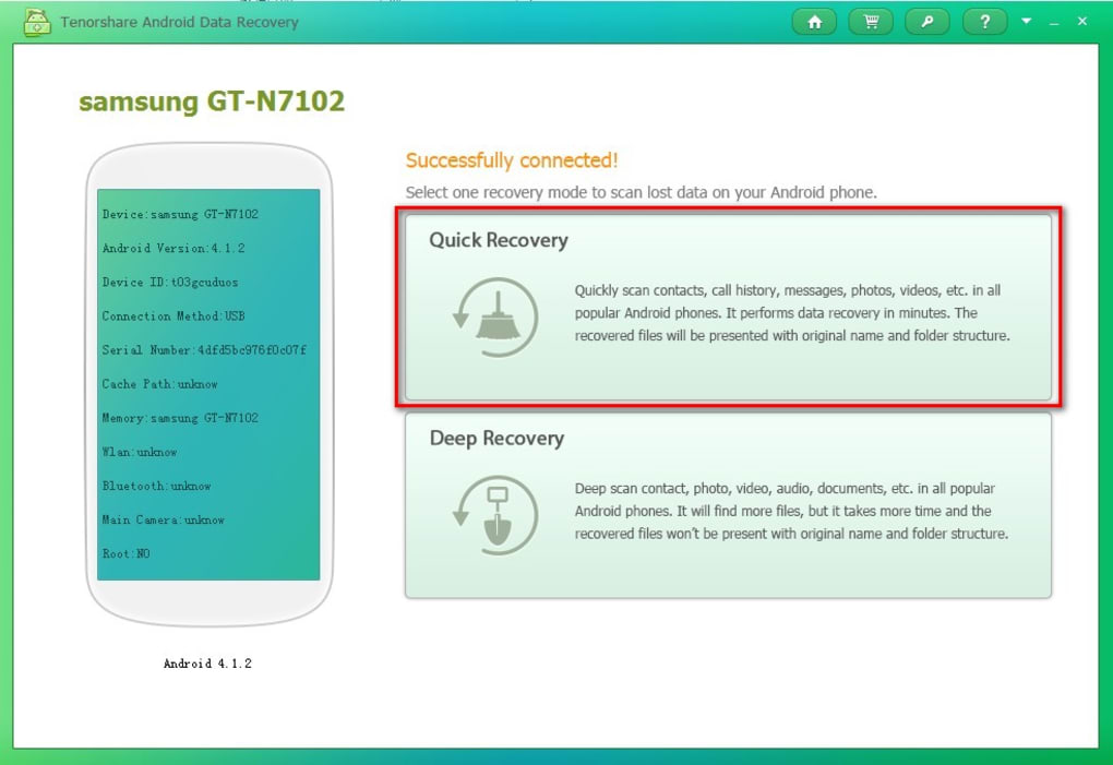 Tenoshare Android Data Recovery - Download