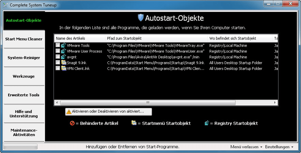 Complete System Tuneup Download