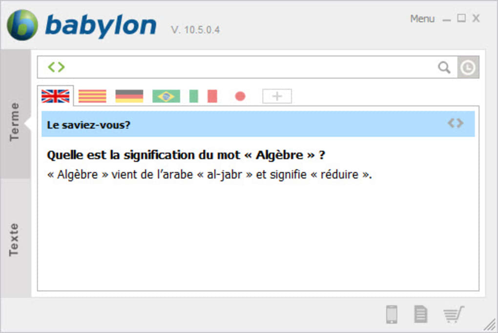 babylon toolbar gratuit