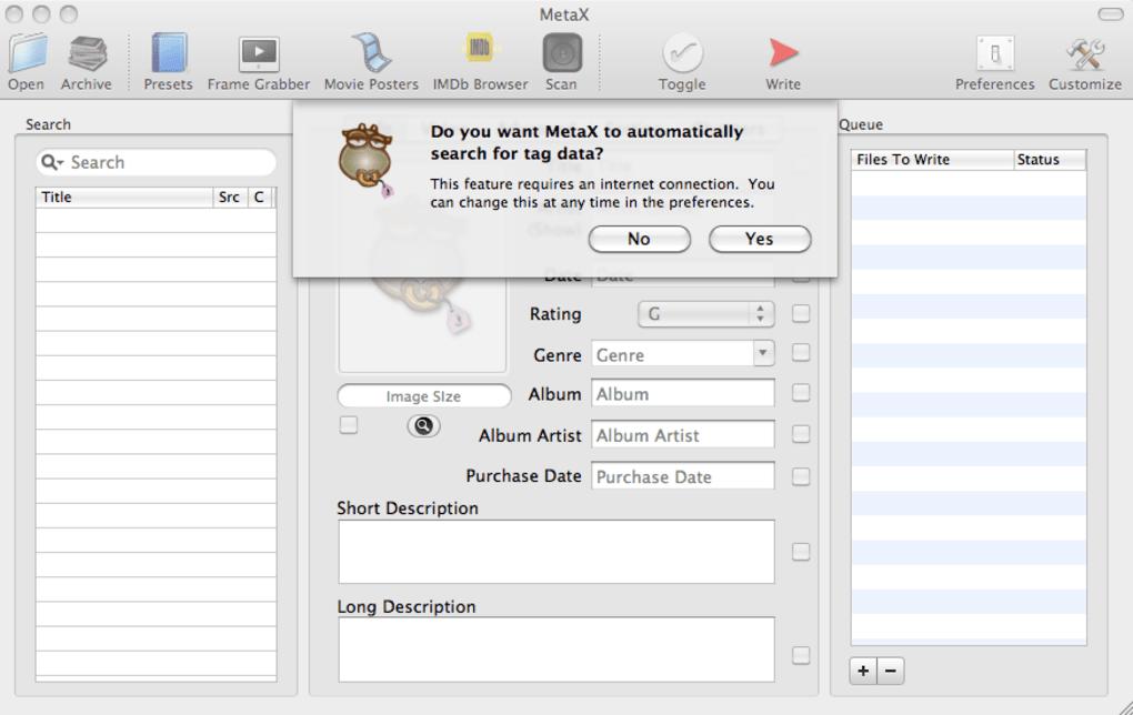 MetaX for Mac - Download