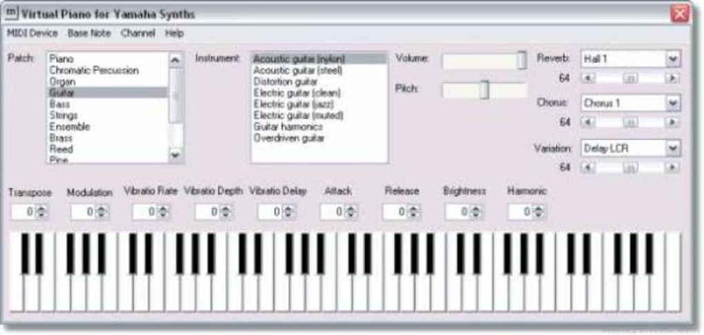 piano virtuel midi 6.1 gratuit softonic