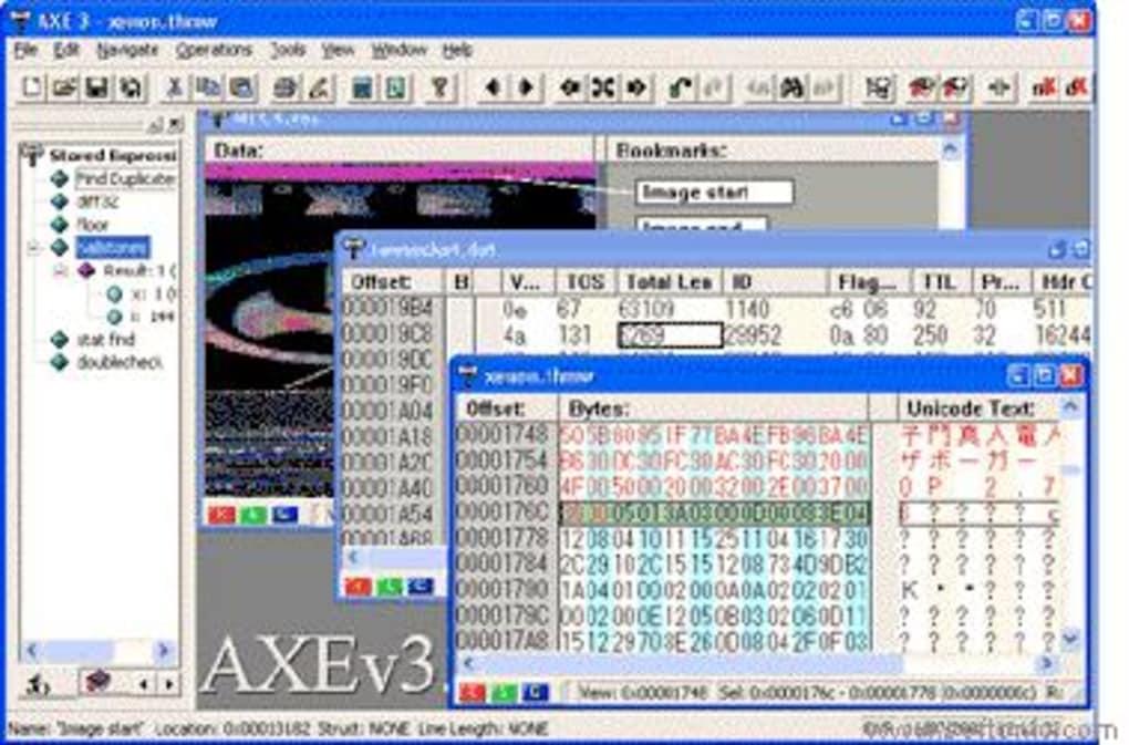 Advanced Hex Editor (A X E ) - Download